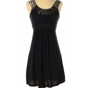 Chesley Crystal Embellished Scoop Neck Dress